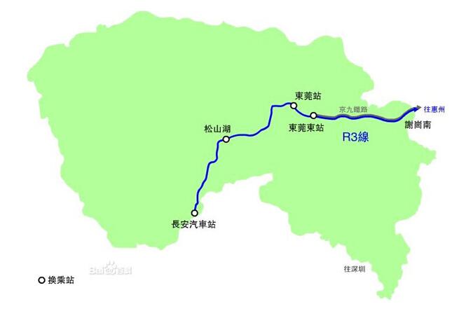 史上最全东莞地铁交通图 快看有无地铁经过家门口图片