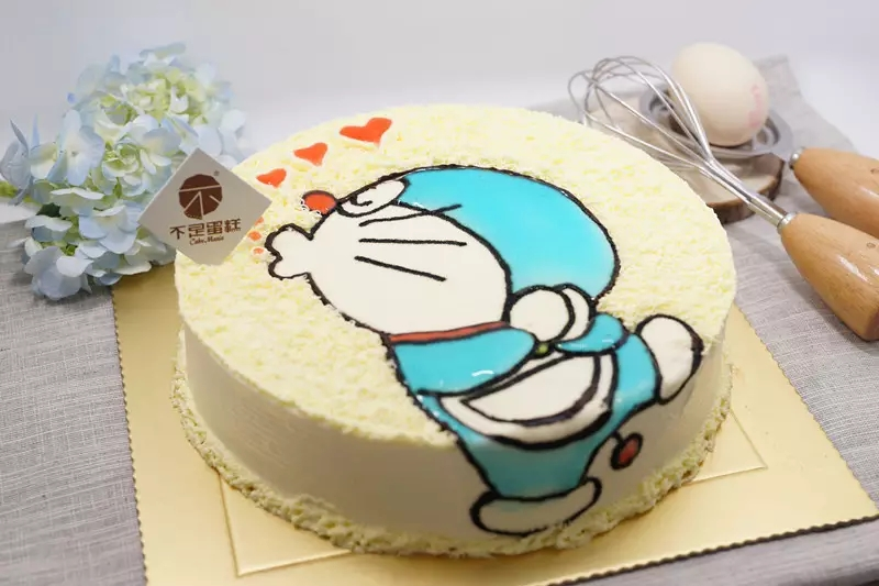 儿童蛋糕卡通图案女