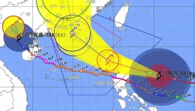 新 17级超强台风 海马 影响东莞,本周末将有特大暴雨