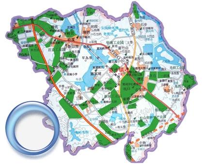 东莞市寮步镇全镇地图