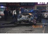 """bob娱乐下载地址一男子醉驾致1死3伤后逃逸,9部小车被撞成""""废铁""""..."""